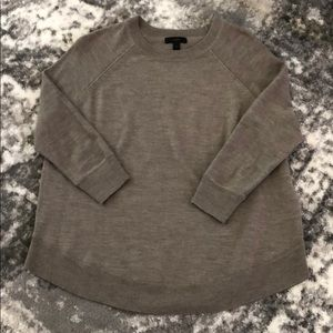 J Crew Oversized Merino Wool Swing Sweater Size XS
